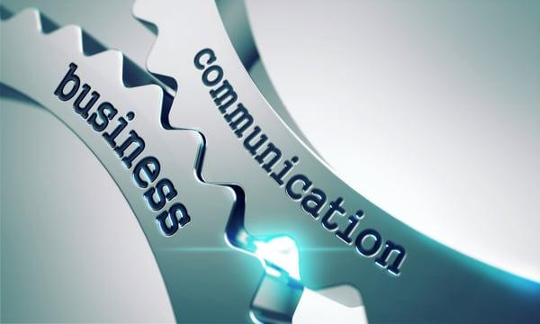 Business Communication on the Mechanism of Metal Cogwheels.